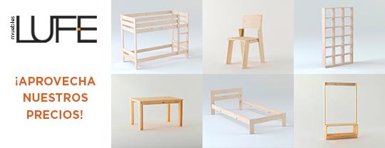 Imagen de algunos productos de LUFE
