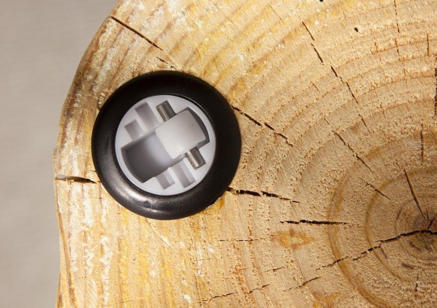 tronco lufe detalle ruedas