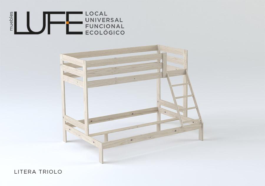 litera triolo cama de muebles lufe tecnico