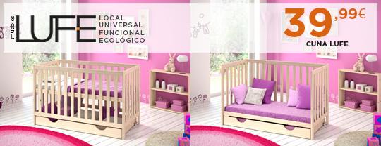 Cuna blog muebles lufe for Muebles lufe sofa cama