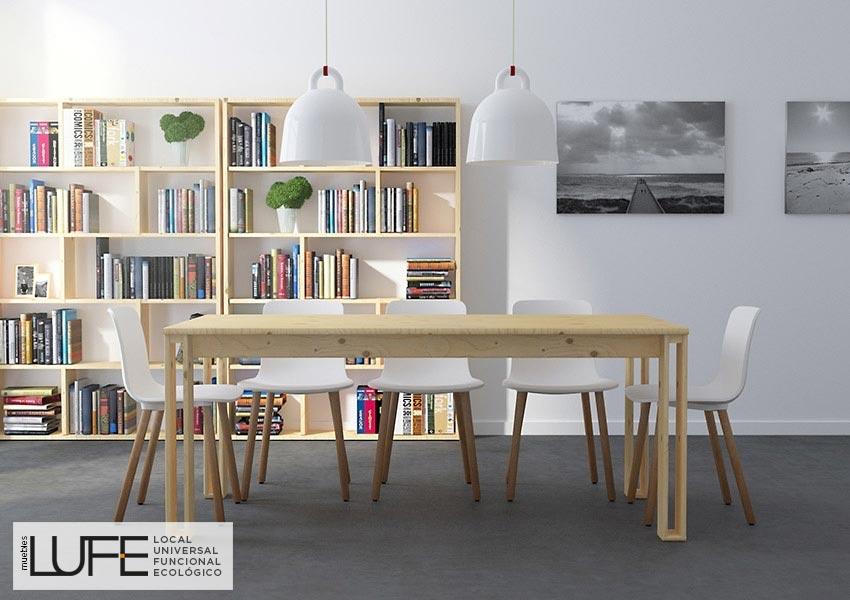 Estanter as para componer la obra de tu vida blog for Muebles salon madera maciza