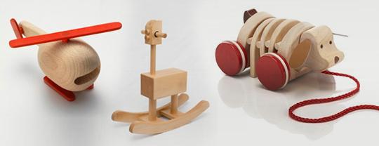 juguetes en madera