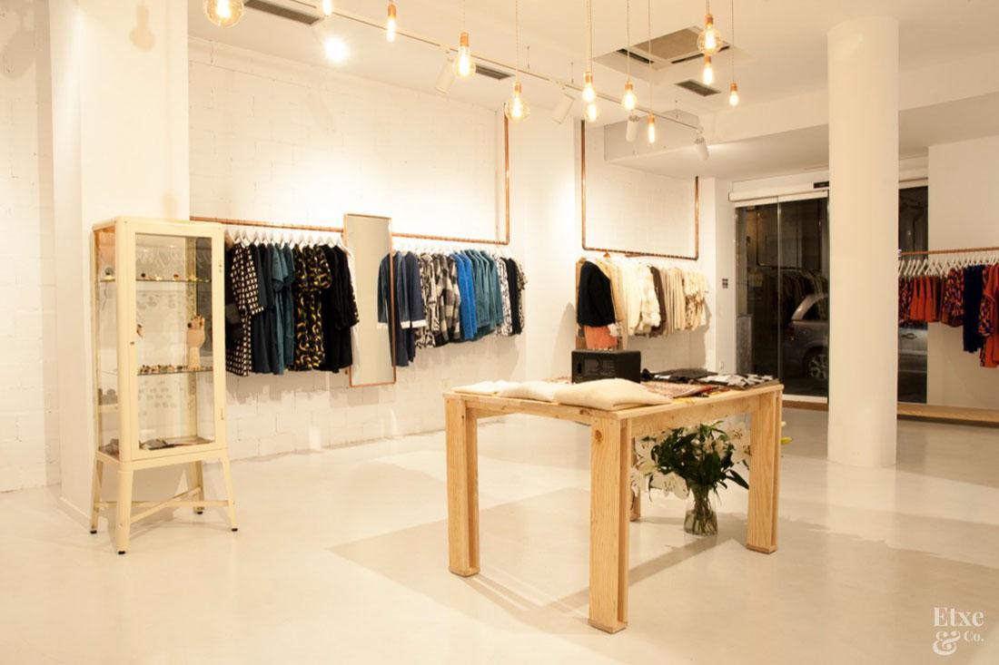 Muebles local de ropa obtenga ideas dise o de muebles for Muebles lufe estanterias