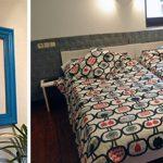 Muebles pintados para un lugar con encanto.