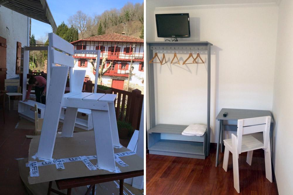 Muebles pintados para un lugar con encanto blog - Muebles lufe azpeitia ...