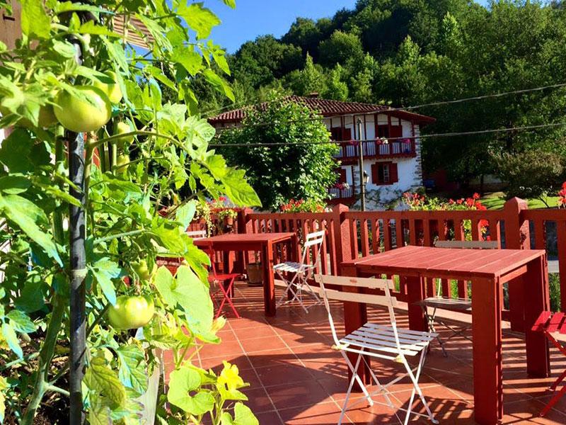 mesa arina para la terraza