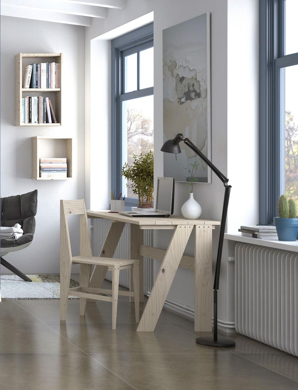 Es tiempo de inspiraci n blog muebles lufe for Muebles para oficina en casa