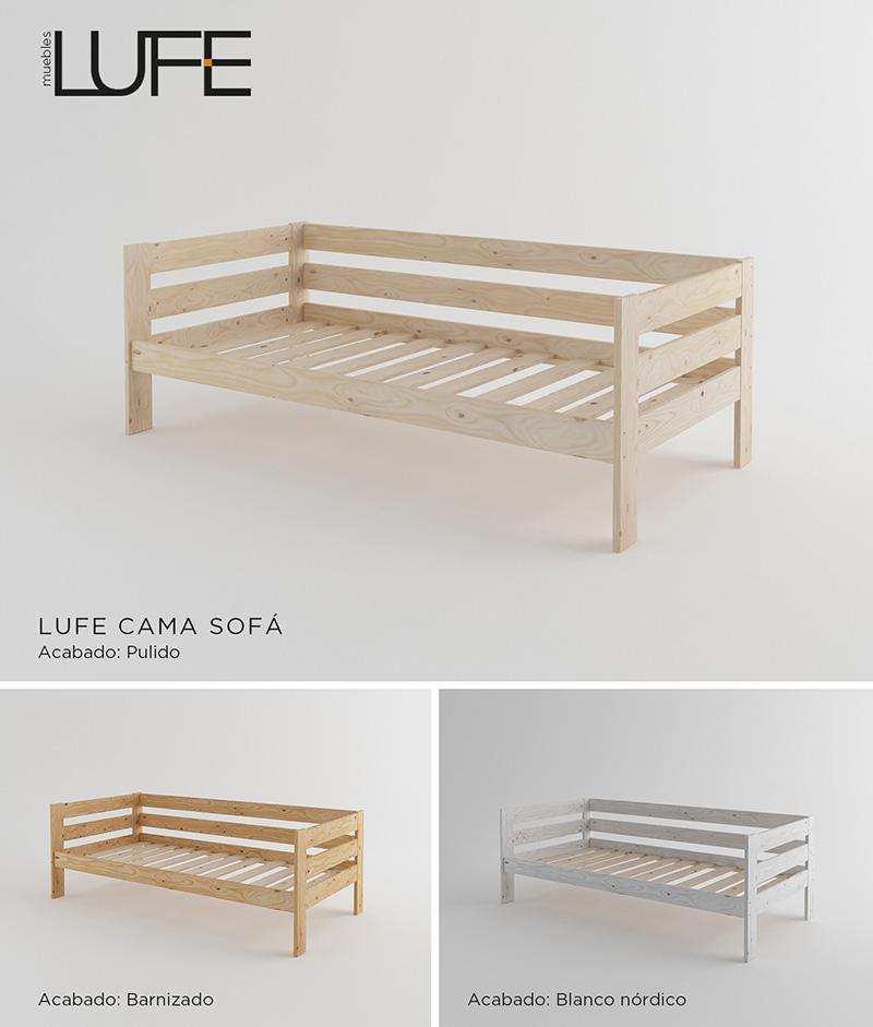 Muebles lufe sofa cama perfect los de uoperacin triunfou for Muebles lufe