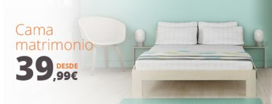 comprar cama de matrimonio barata