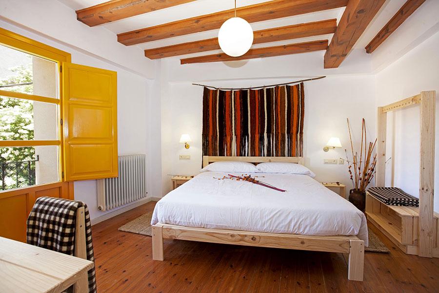 muebles habitación superior Posada Hoyos de Iregua
