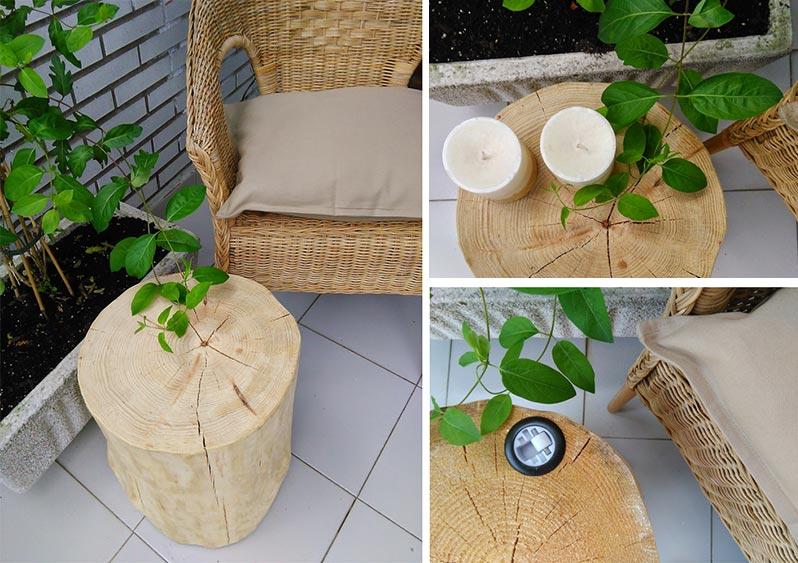 Muebles de madera ecol gica para exteriores resistentes a - Mesas de madera para exterior ...