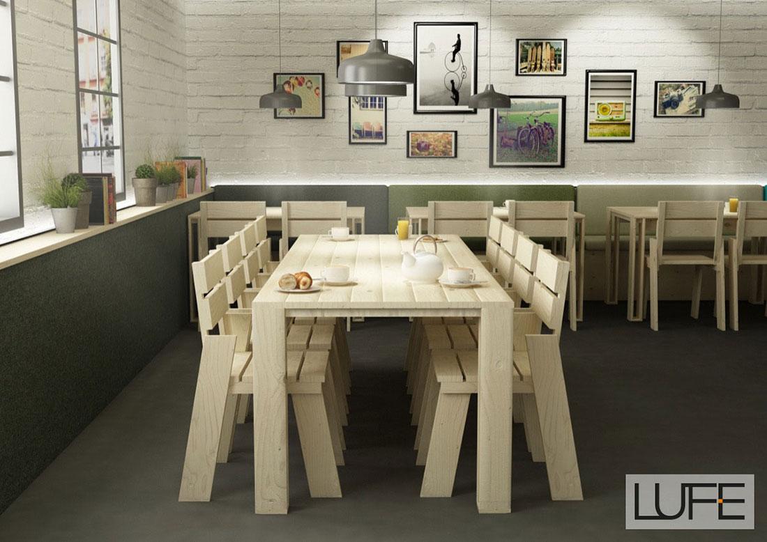 Muebles de madera ecol gica para comedores a precios baratos for Precios de sillas de madera para comedor