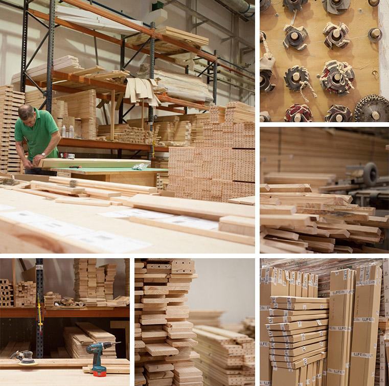 en muebles lufe somos fabricantes