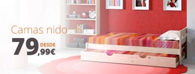 camas nido baratas desde 79,99