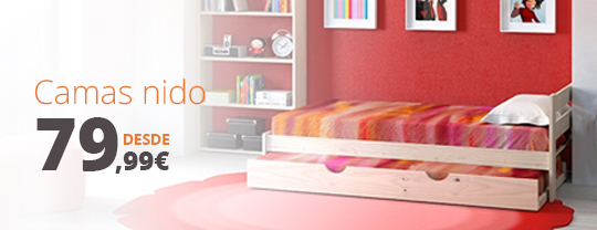 Cama nido barata madrid amazing with cama nido barata for Camas baratas madrid