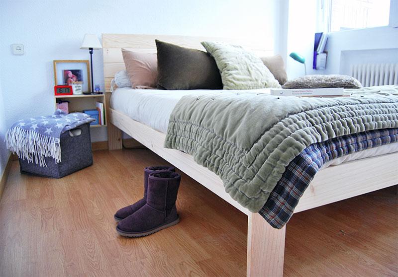 Cabeceros de madera maciza para cama individual infantil - Cabeceros de cama de matrimonio ...