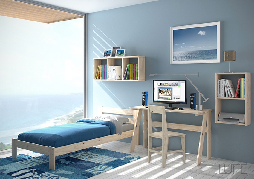 Mesas baratas y escritorios de estudio baratos para casa - Silla para escritorio en dormitorio juvenil ...
