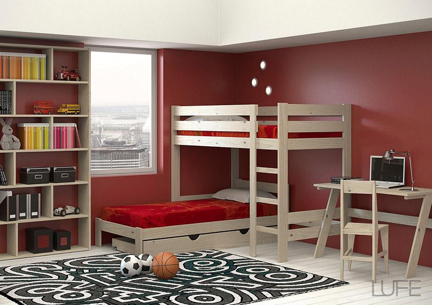 Cajones de madera ecológica para camas con almacenaje o almacenaje ...