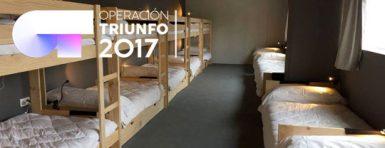 Muebles LUFE en la nueva academia de Operación Triunfo