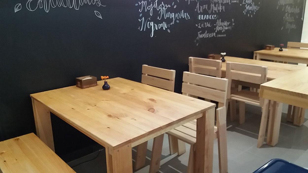 Mobiliario para hosteler a barato y resistente fabricado - Muebles lufe azpeitia ...