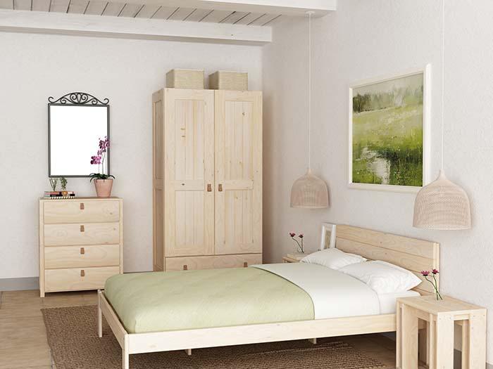 armarios para ropa baratos de madera ecol gica pulida