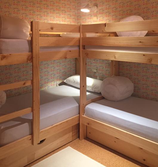 Literas infantiles baratas de madera ecol gica con camas y for Camas con cajones baratas