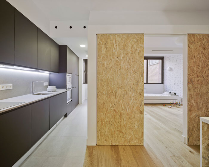 La Casa de los artistas con dos LUFE camas apilables completas