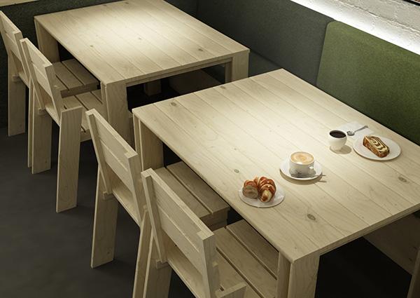 Mesas y sillas baratas y resistentes para la casa del pueblo