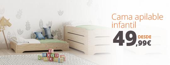 Nueva LUFE cama apilable infantil
