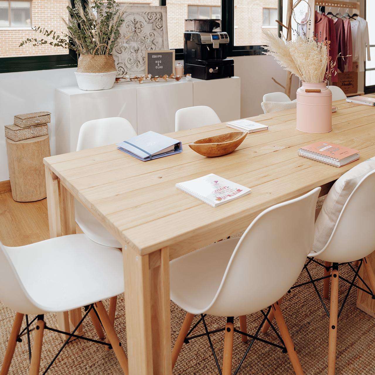 ARINA: mesas de diseño nórdico y fabricación ecológica