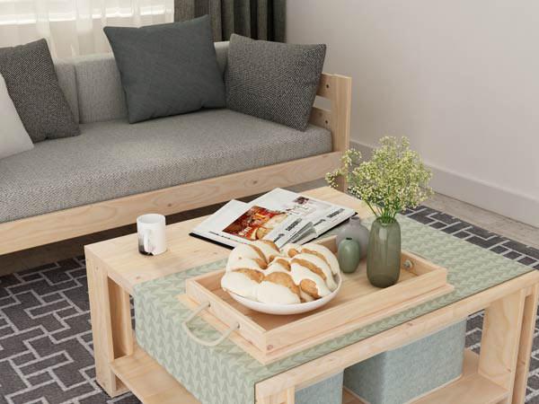 Mesas de madera baratas de madera ecológica