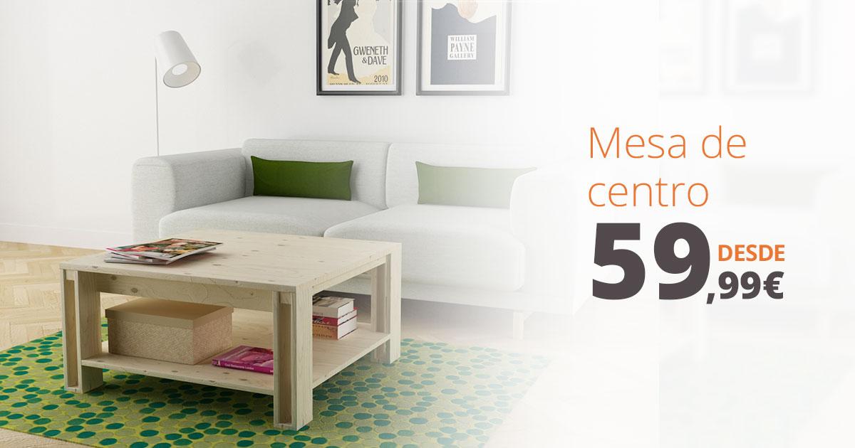 ARINA: mesas de centro y mesas auxiliares para salón de diseño nórdico y fabricación ecológica
