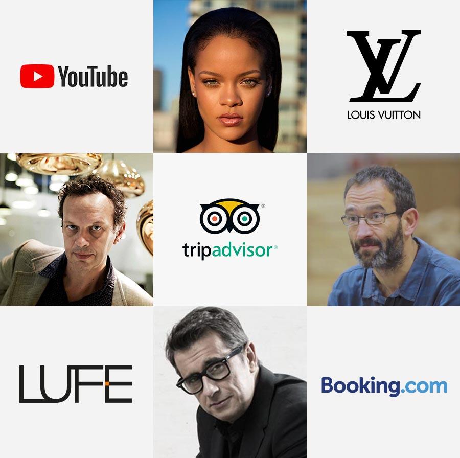 Creativos que forman parte de la lista de la revista Forbes