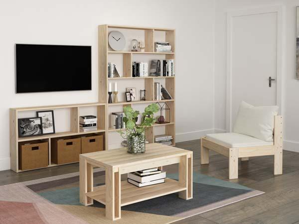 Muebles n rdicos baratos de madera ecol gica - Muebles nordicos ...