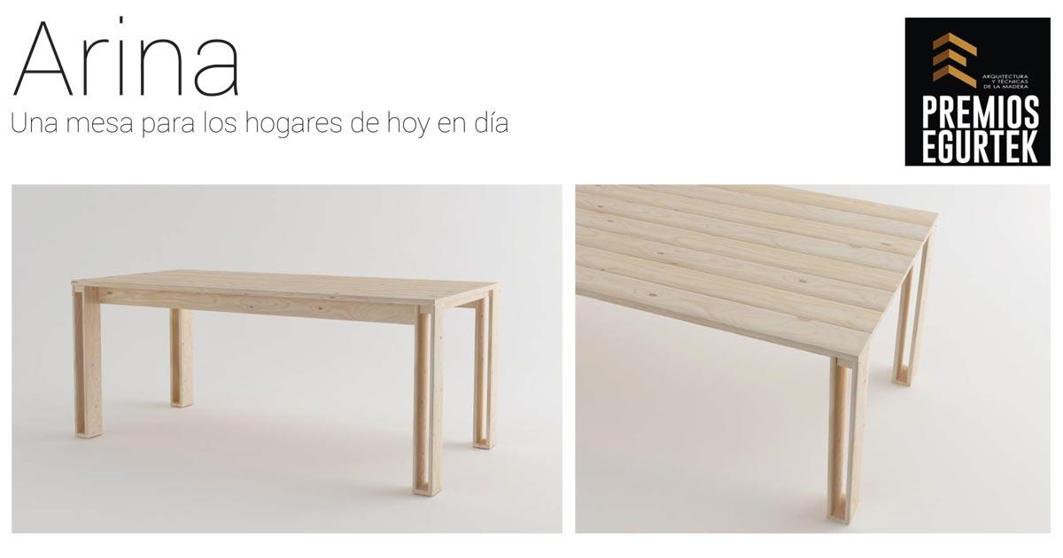 Apostar por la madera local y por el diseño siempre tiene premio