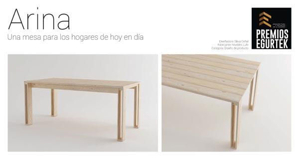 mesas de madera para la cocina o comedor estilo nórdico