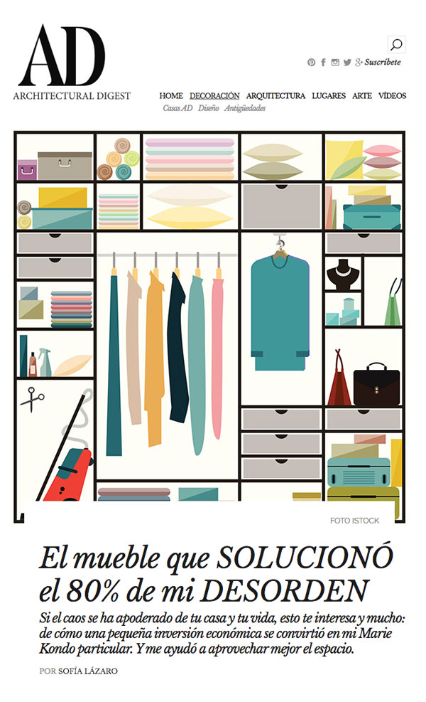 Revista Architectural Design Muebles LUFE