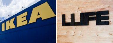 Diferencias y parecidos entre Ikea y Muebles LUFE
