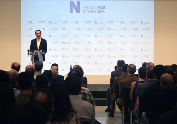Enrique Arillaga (LUFE) en Premios FAE de Innovación
