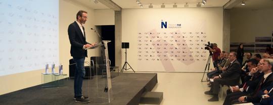 Enrique Arrillaga da charlas para contar su experiencia a otros empresarios