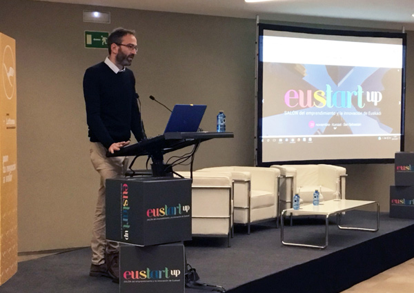Enrique Arrillaga en Eustart Up