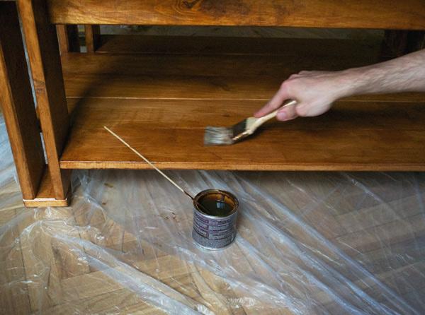 Ideas para Barnizar muebles de madera