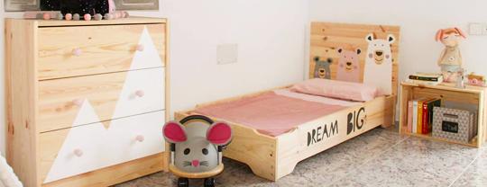 Cama apilable infantil personalizada