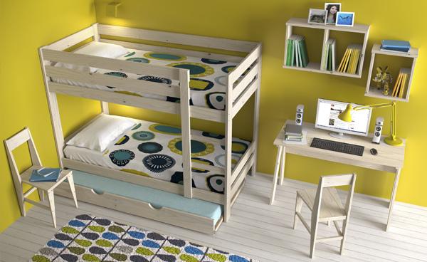 silla de madera barata y de diseño resistente