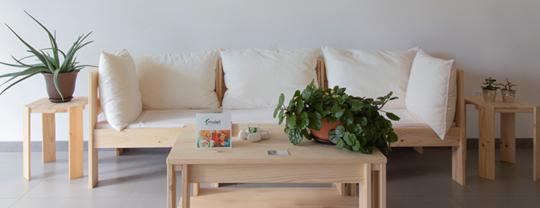 muebles de madera maciza baratos