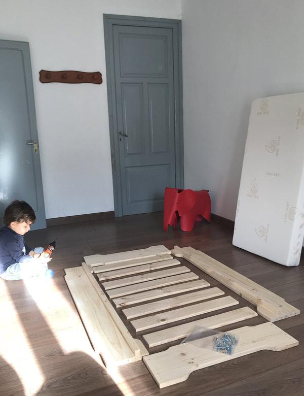 Muebles de madera montaje fácil
