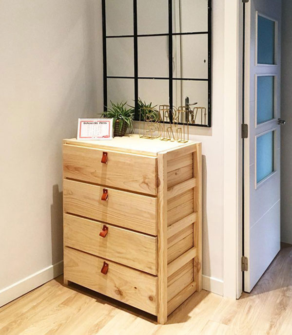 cómodas baratas de madera ecológica de diseño juvenil
