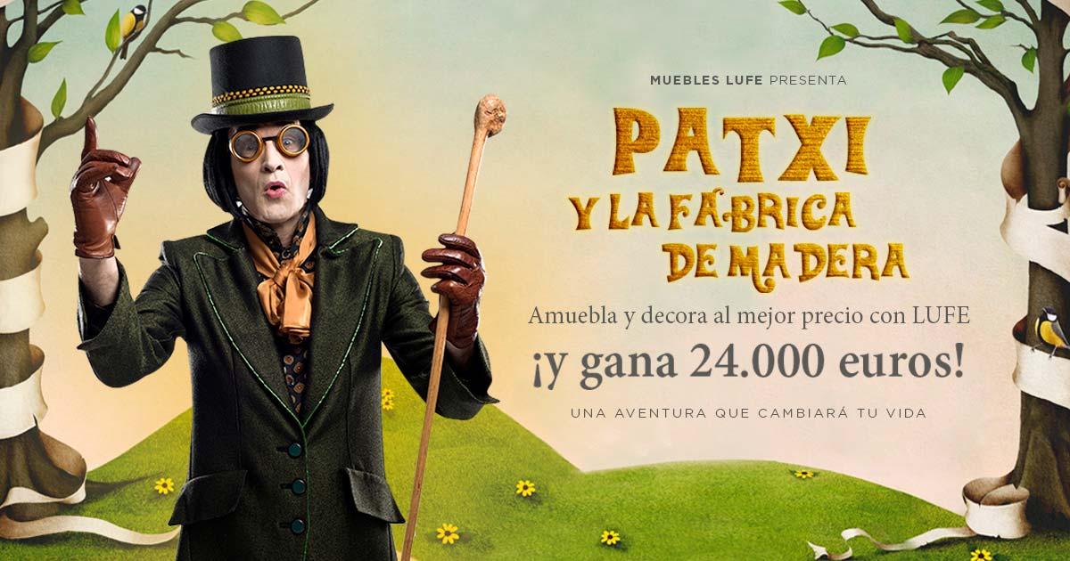 Patxi y la fábrica de madera, o por qué LUFE quiere regalarte 24.000 euros