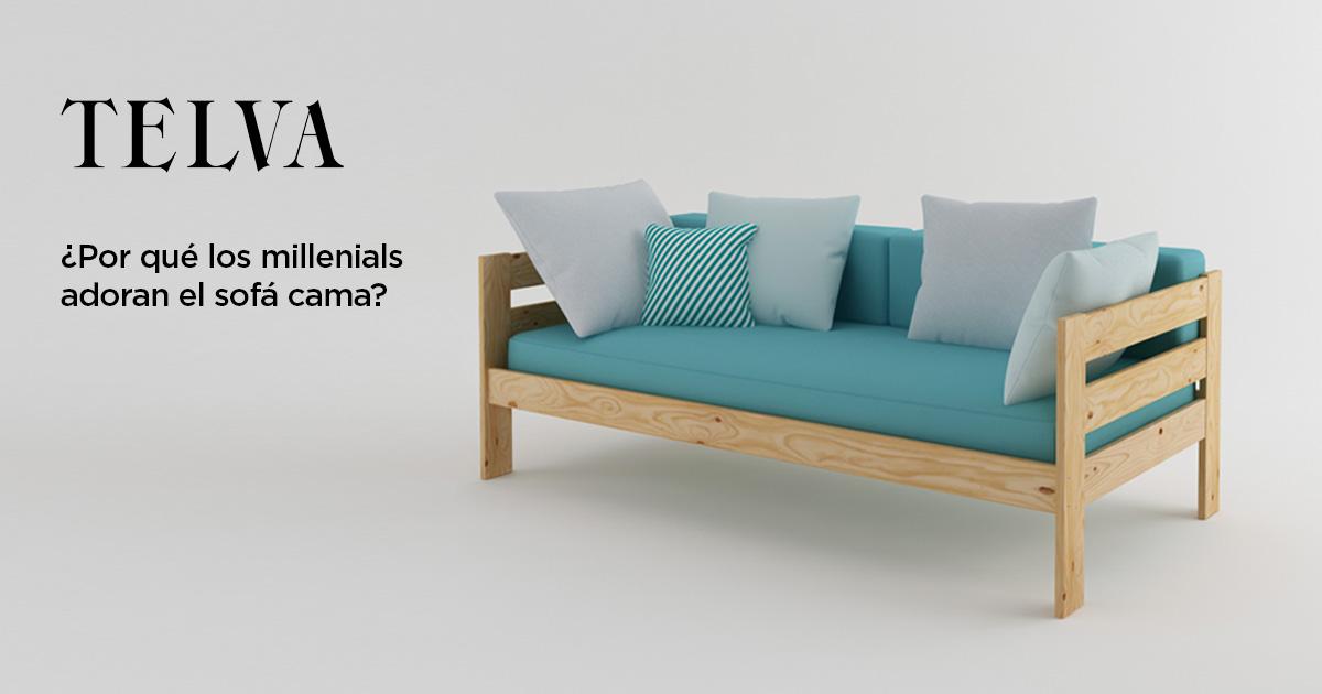 La revista Telva te invita a comprar sofás cama en LUFE