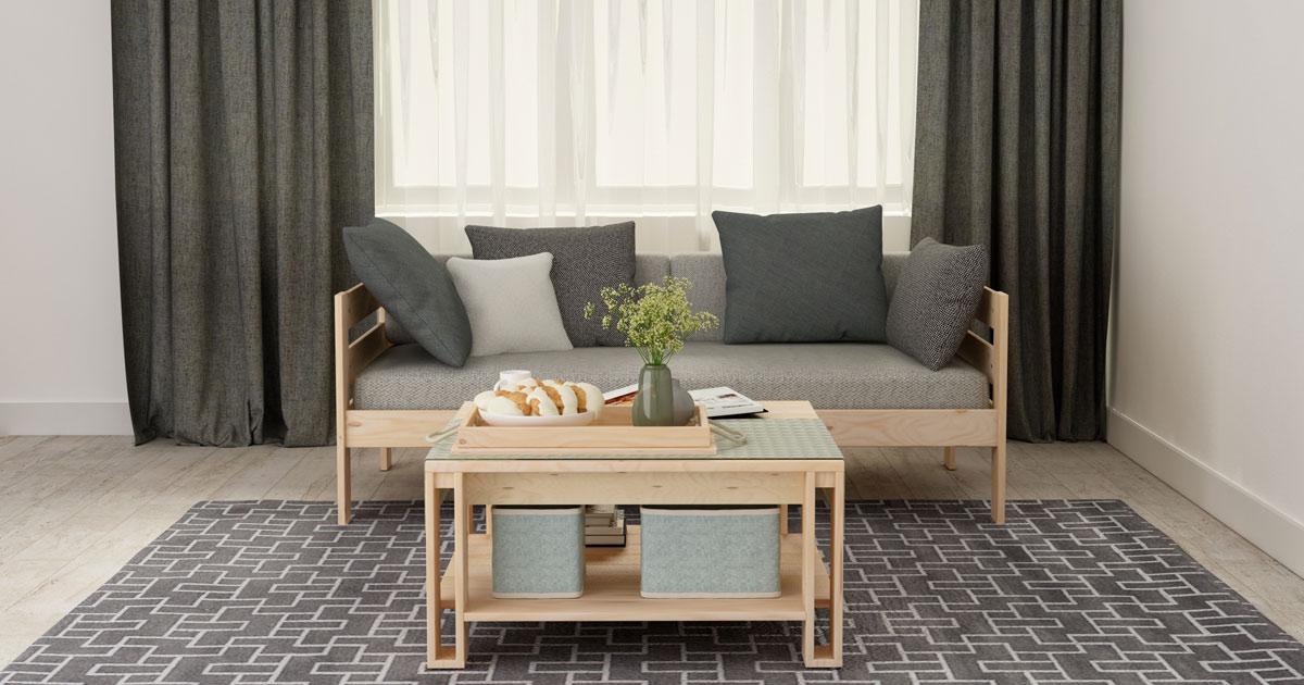 Descubre por qué los salones modernos decorados con madera son irresistibles